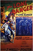 Movie Posters The Lone Ranger - 11 x 17