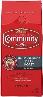 Community Coffee Premium Ground Coffee, Signature Blend, Dark Roast, 12 Ounce