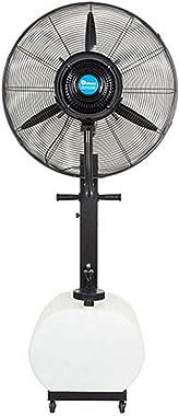 WANGJ-Chaise Spray Mist Pedestal Fan Cooling Fan Desktop Pedestal Oscillating Stand Home Office Cool Air Tower with Tilt & Ad