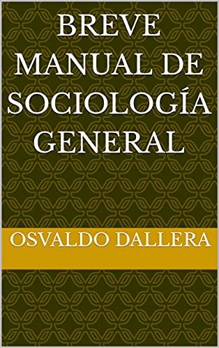 Breve manual de Sociología General