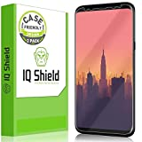 IQ Shield Screen Protector Compatible with Samsung Galaxy S8 Plus (2-Pack)(Case Friendly Updated Version) LiquidSkin Anti-Bubble Clear Film