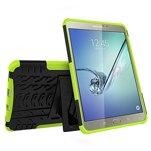 Galaxy Tab S2 8.0 (SM-T710 / T713 / T715) Case, YMH Full-Body [Heavy Duty] & [Shock Proof] Hybrid Armor Protective Silicone Case with Kickstand for Samsung Galaxy Tab S2 8.0 (6)