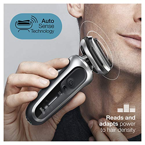 Braun Shaver 7071 cc Clean & Charge System Silver NA