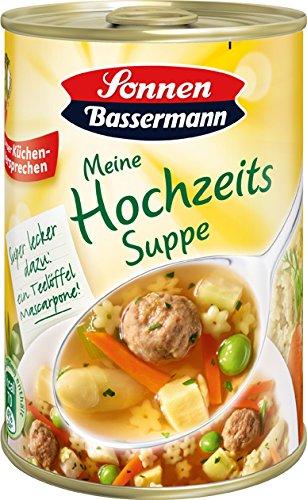 Sonnen Bassermann Hochzeitssuppe , 3er Pack (3 x 400 ml Dose)