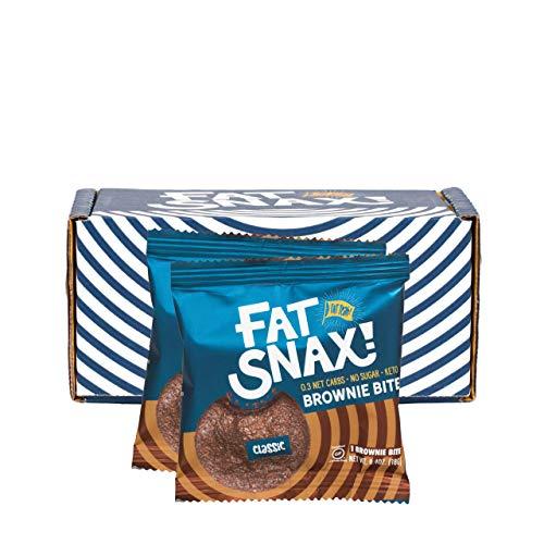 Fat Snax Brownie Bites - Low Car...
