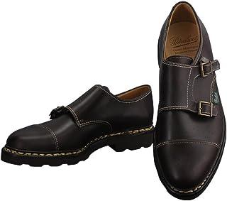 [パラブーツ] モンクシューズ WILLIAM ウィリアム メンズ靴 ダークブラウン オイルドレザー レザースニーカー ダブルモンク 本革 william-981413 国内正規取扱店
