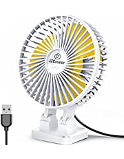 Personal USB Desk Fan,3 Speeds Portable Desktop Table Cooling Fan ,Strong Wind, Quiet Operation,for Home Office Car Outdoor Travel