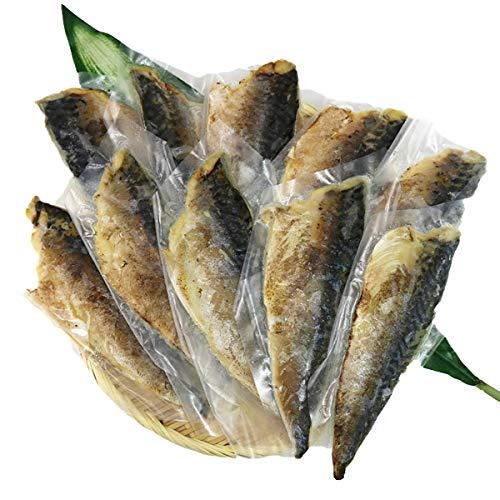 食の達人森源商店 炙りスモークさば 10枚 1kg さば 鯖 サバ 燻製 生食 冷凍便