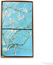 Classic Vintage Style Refillable Journal Writing Leather Notebook, Perfect Gift as Art Sketchbook, Travel Diary Book (Almond Blossom)