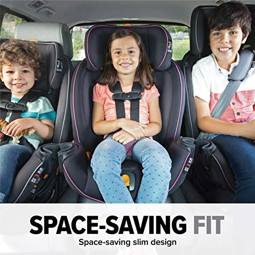 Chicco Fit4 4-in-1 Convertible Car Seat | Easiest All-in-One from Infant to Booster | 10 Years of Use - Stratosphere