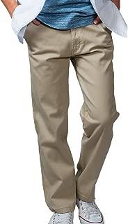 (Richard&Neil) チノパン メンズ ストレッチ テーパード [S~8L] 大きいサイズ 小さいサイズ [選べる股下でピッタリフィット] ボトムス 無地 定番 綿