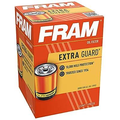 FRAM Extra Guard PH5, 10K Mile Change Interval Spin-On Oil Filter