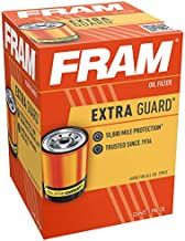 FRAM Extra Guard PH3682, 10K Mile Change Interval Spin-On Oil Filter