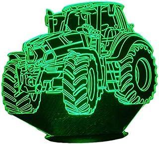 DEUTZ, Lampada illusione 3D con LED - 7 colori.