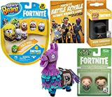 Vanguard Mini Figure Pocket Pop! Keychain Hanger Pack Bundled with + Dark Beanz Mighty Characters + Pathfinder & High Assault Trooper + Battle Guide Book + Royale Loot Llama Plush 5 Items
