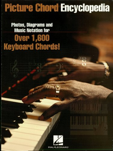 Picture Chord Encyclopedia for Keyboard: Photos, Diagrams and Music Notation for Over 1,600 Keyboard Chords (English Edition)