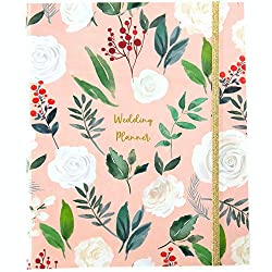 cheap Modern Wedding Planner Book  Bridal Organizer with Gift Box   Complete Wedding Planning…