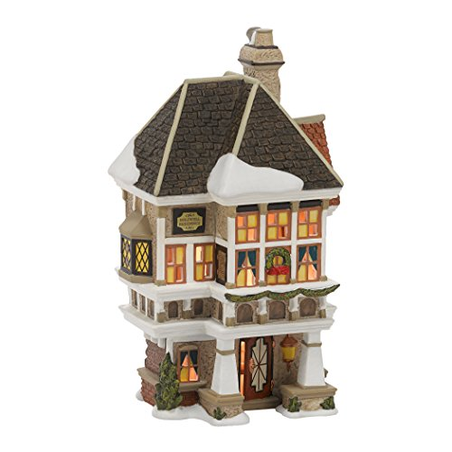 Department 56 Dickens A Christmas Carol Village Nephew Fred's Home Lit Building, 8.07 inch