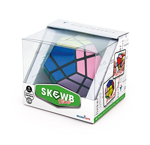 Mefferts 501254 - Meffert's Skewb Ultimate 12 Color, 3D-Puzzle in attraktiver Geschenkverpackung
