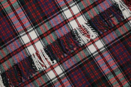 INGLES BUCHAN VAN SCOTLAND WOOL TRAVEL PICNIC RUG MACDONALD JURK
