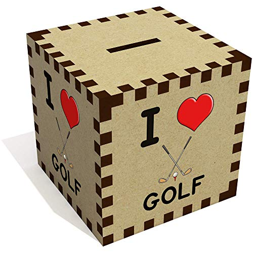'I Love Golf' Sparbüchse / Spardose (MB00001245)