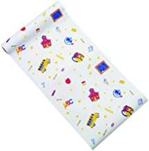 Pediatric Table Paper. 6 rolls of Exam Table paper 18 inch x 125 Feet. Crepe paper for exam tables. Strength, Protection and Cleanliness. Schooltime Design.