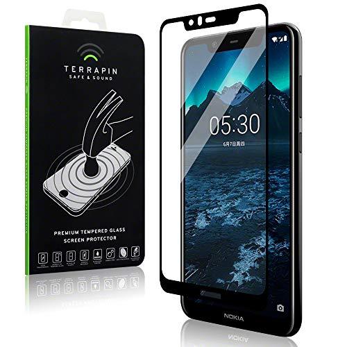 TERRAPIN Pellicole Protettive Schermo in Vetro Temperato per Nokia 5.1 Plus