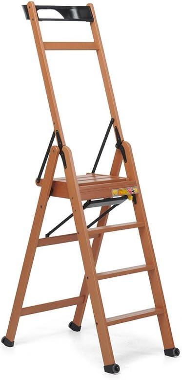 Foppapedretti Lascala 4 信頼 Rung 使い勝手の良い Noce Step Ladder
