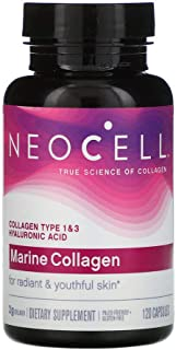 Neocell Fish Collagen - Hyaluronic Acid, Capsules - 120 Capsules