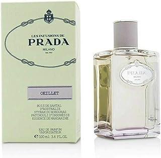 Prada Les Infusions Oiellet Eau de Parfum, 3.4 Ounce, clear