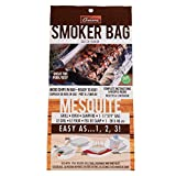 Mesquite Smoker Bag- X Large Smoking Bag for Indoor or Outdoor Use- Easily Infuse Natural Wood Flavor - Holds Entire Meal