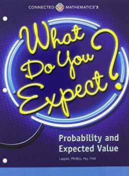 Paperback Connected Mathematics 3 Student Edition Grade 7 What Do You Expect? Probability and Expected Value Copyright 2014 Book
