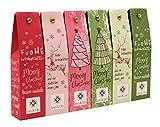 Leo & Lilo Kleiner Weihnachtsgruß, Geschenkset mit 6 Handcremes in zauberhafter Verpackung,...