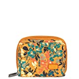 Lug Women's Splits 2 Compact Wallet, Wildflower Amber, One Size