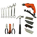 BLACK+DECKER HD565K Power and Hand Tool Kit with 550W,13mm Variable Speed Dual Mode