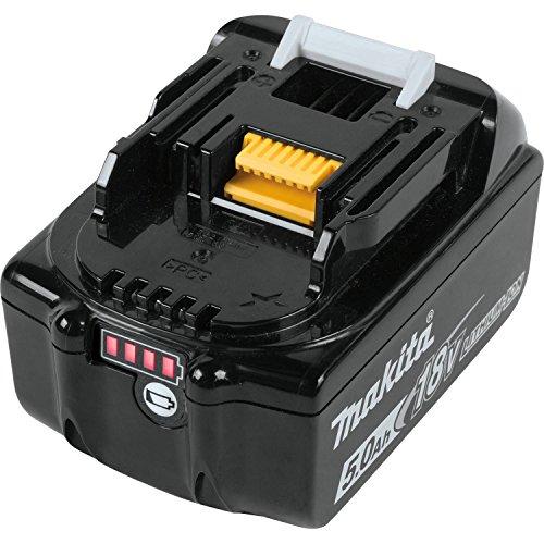 Makita BL1850B-2 18V LXT Lithium-Ion 5.0Ah Battery Twin Pack, Black