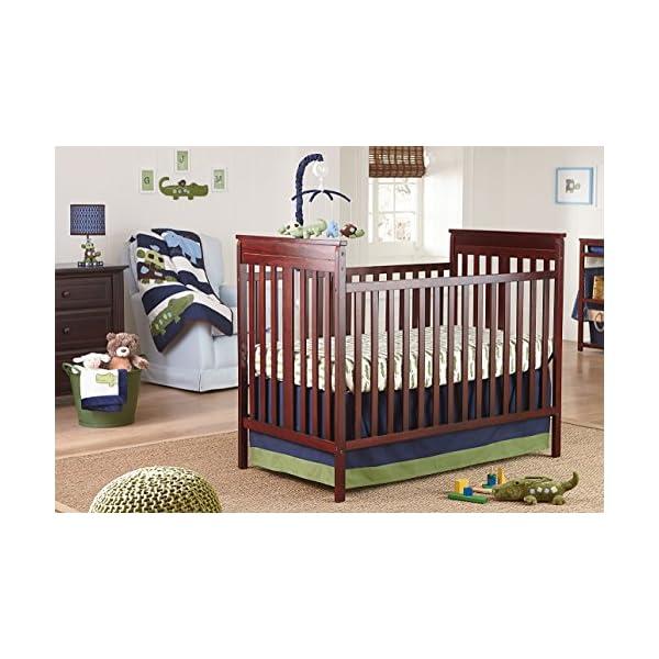 NoJo Elephant 4 Piece Nursery Crib Bedding Set