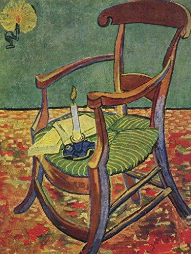 Lais Puzzle Vincent Willem Van Gogh - Paul Gauguins Stuhl (Der Leere Stuhl) 100 Teile