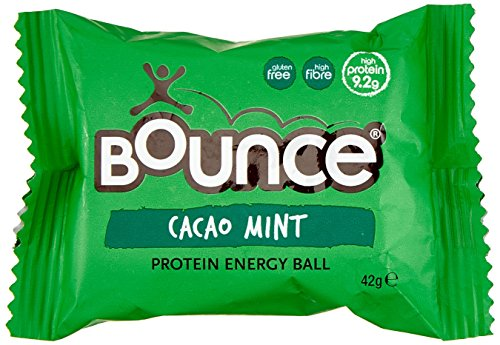 Bounce Foods Cacao Mint Protein Bomb Energy Ball (Pack of 20