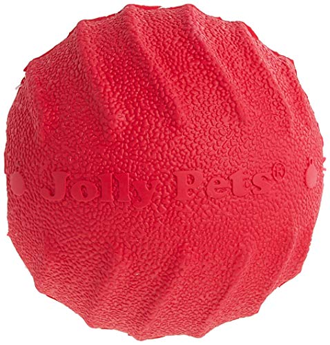 Jolly Pets Tuff Tosser Bouncing Ball Tog Toy/Treat Holder, 3 Inches,...