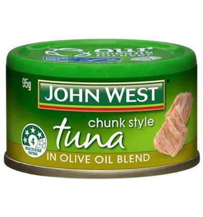 John West Thunfisch Versucher Oliven-Öl-Mischung 95gm
