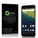 CitiGeeks Google Nexus 6P by Huawei High Definition (HD) Screen Protector - [Anti-Glare] Maximum Clarity Accurate Touch Screen Sensitivity [3-Pack] Fingerprint Resistant Semi-Matte