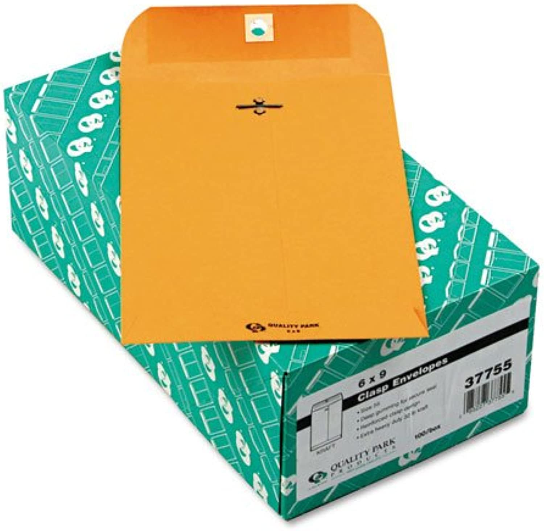 Quality Park Clasp Envelope 6 x 9 32lb braun Kraft - Quality Park 37755 B009T32JL2 | Üppiges Design