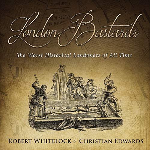 London Bastards audiobook cover art