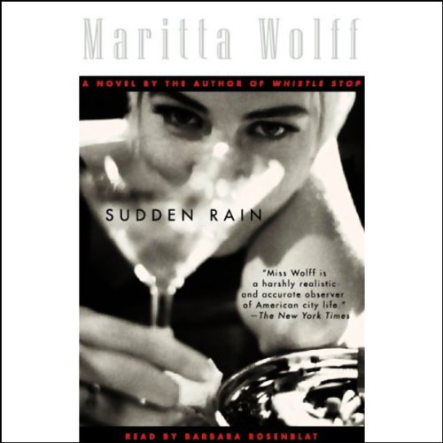 Sudden Rain audiobook cover art