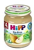 HiPP Bio-Birne, 6er Pack (6 x 125 g) -