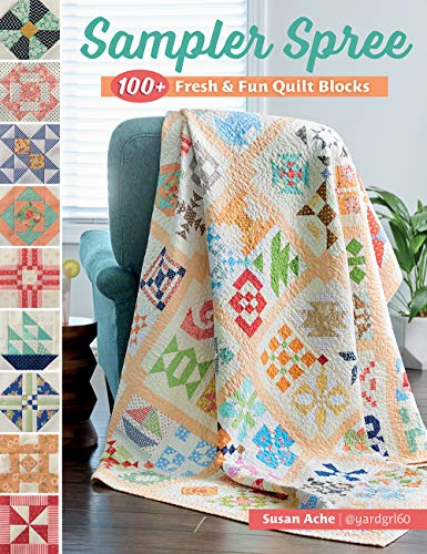 Compare Textbook Prices for Sampler Spree: 100+ Fresh & Fun Quilt Blocks  ISBN 0744527115662 by Ache, Susan