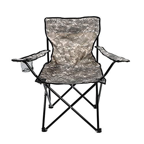 Cadeira Araguaia Confort com Braço Camuflada Bel Fix Verdeparareto