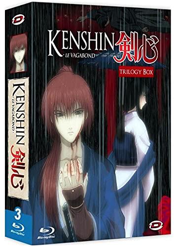 Vagabond-Trilogy Box : Kenshin : Tsuioku Seisou Hen-Le chapitre de l'expiation + Le Film : Requiem pour Les Ishin Shishi [Blu-Ray]