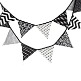 3.3M bandierina banner bandierina triangolari ghirlanda Banner di gagliardetto bandierine triangolari bandierine colorate Bandiere decorative da festa per feste di compleanno